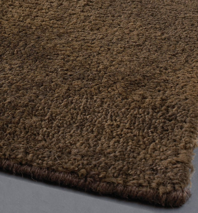 Artist's Loom Hand-woven Contemporary Solid Natural Eco-friendly Jute Rug (7'9 Round)