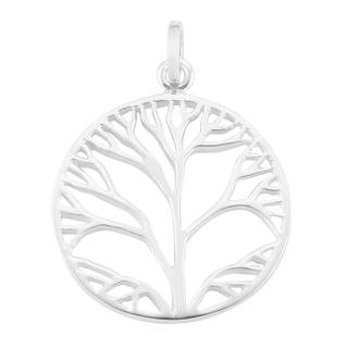 Handmade Sterling Silver 'Tree of Life' Pendant (Thailand)