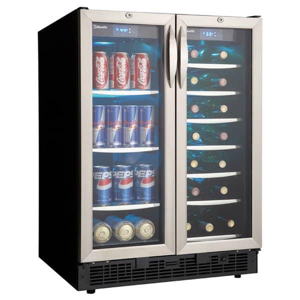 Shop Danby Beverage Center And 27 Bottle Wine Cooler Overstock 3511207