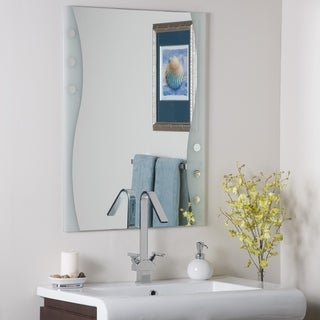 Link to Frameless Maritime Wall Mirror - Silver - A/N Similar Items in Mirrors