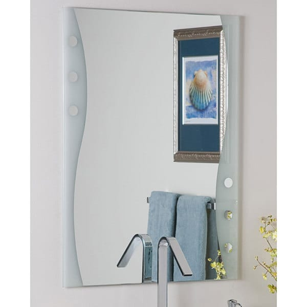 Frameless Maritime Wall Mirror - Free Shipping Today - Overstock.com ...