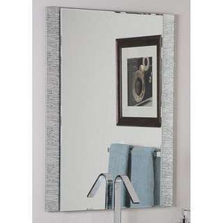 Link to Frameless Molten Wall Mirror - Silver - A/N Similar Items in Mirrors