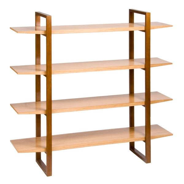 Breeze Shelving Unit with Wood Legs - Free Shipping Today - Overstock ...