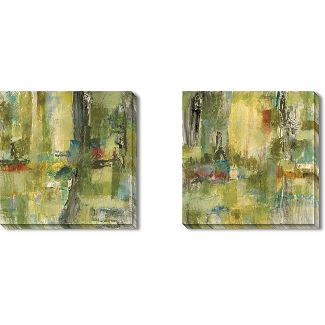 Gallery Direct Bellows 'Equivalence' Gallery-wrapped Art Set - Thumbnail 0