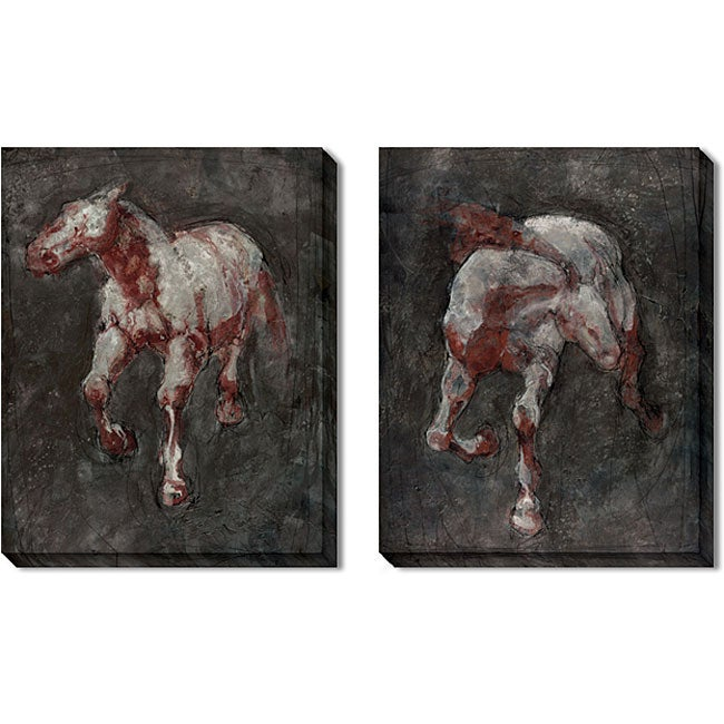 Gallery Direct Maeve Harris 'Cantor' Gallery-wrapped Art Set