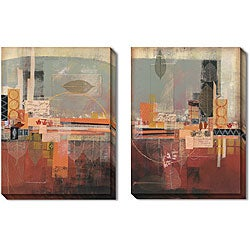 Gallery Direct DeRosier 'Diagraphic' Gallery-wrapped Art Set