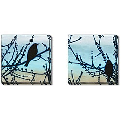 Gallery Direct Sean Jacobs 'Morning Song' Gallery-wrapped Art Set
