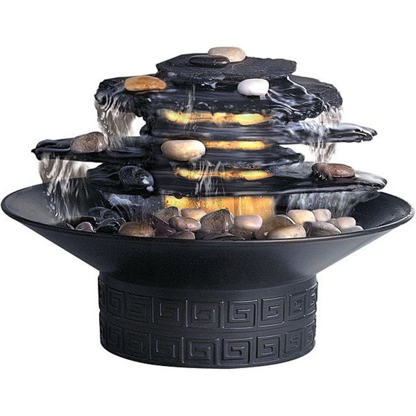 Homedics Envirascape Rock Garden Illuminated Relaxation Fountain Free Shipping On Orders Over 45 3513528
