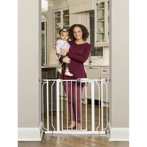 Easy Step Extra-wide Metal Walk-thru Gate