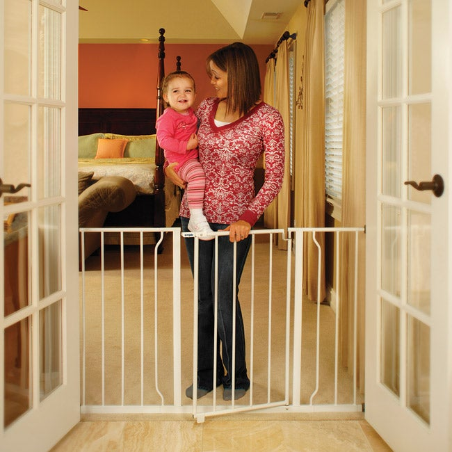 Regalo Easy Open Extra wide Metal Gate