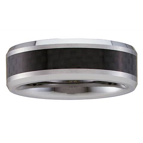 Men's Tungsten Carbon Fiber Band (8 mm)