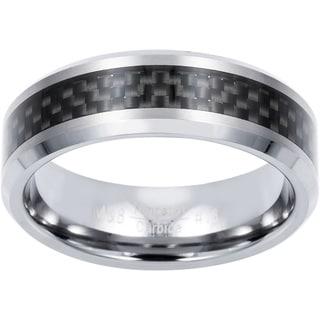 Men's Tungsten Carbon Fiber Band (8 mm)