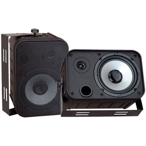 Pyle PylePro PDWR50B 2-way Indoor/Outdoor Speaker - 250 W RMS - Black