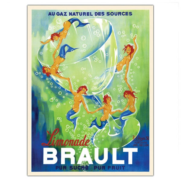 Phillipe H. Noyer 'Limonade Brault' Framed Art. Opens flyout.