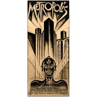 Schuluz Nendamm 'Metropolis' Framed Canvas Art