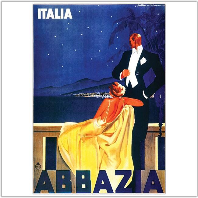 'Italia Abbazia' Framed Art