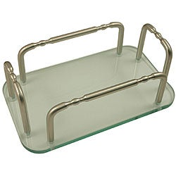 Allied Brass Vanity Top Guest Towel Tray Holder