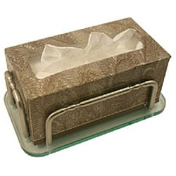 Allied Brass Wall-mounted Guest Towel Tray Holder - Thumbnail 1