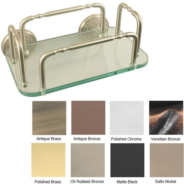 Allied Brass Monte Carlo Wall Mounted Guest Towel Tray Holder