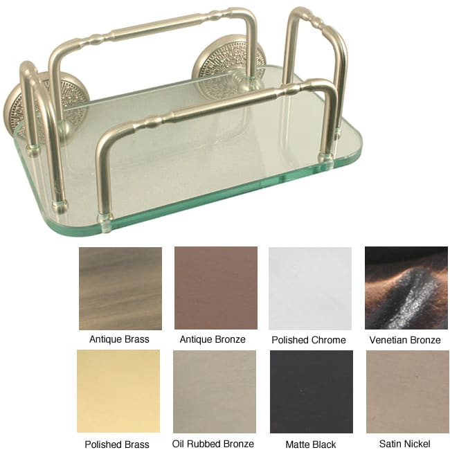 Allied Brass Monte Carlo Wall Mounted Guest Towel Tray