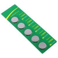 INSTEN Three-volt High-energy Lithium Coin Battery CR2032 (Pack of Five)
