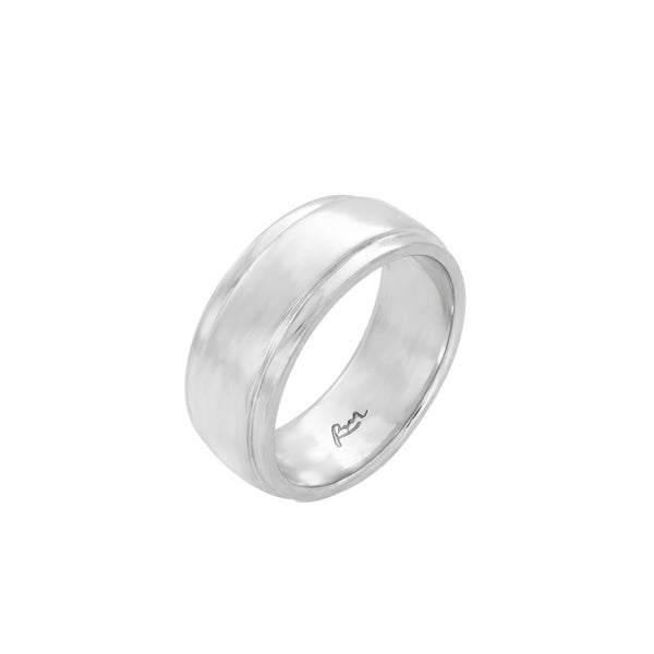 STYLISH STERLING SILVER RING BAND 925 SOLID SIZE 6-8