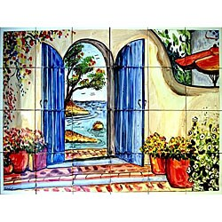Welcome Atmosphere Mosaic 24-tile Wall Mural