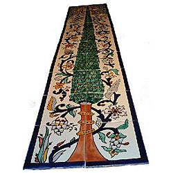 'Pine Tree' Mosaic 20-tile Wall Mural