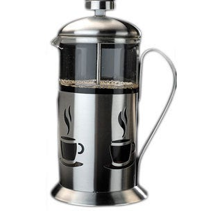 French Press 3-cup Stainless Steel Coffee Maker