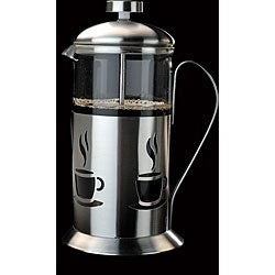 French Press 5-cup Stainless Steel Coffee/ Tea Maker - Thumbnail 0