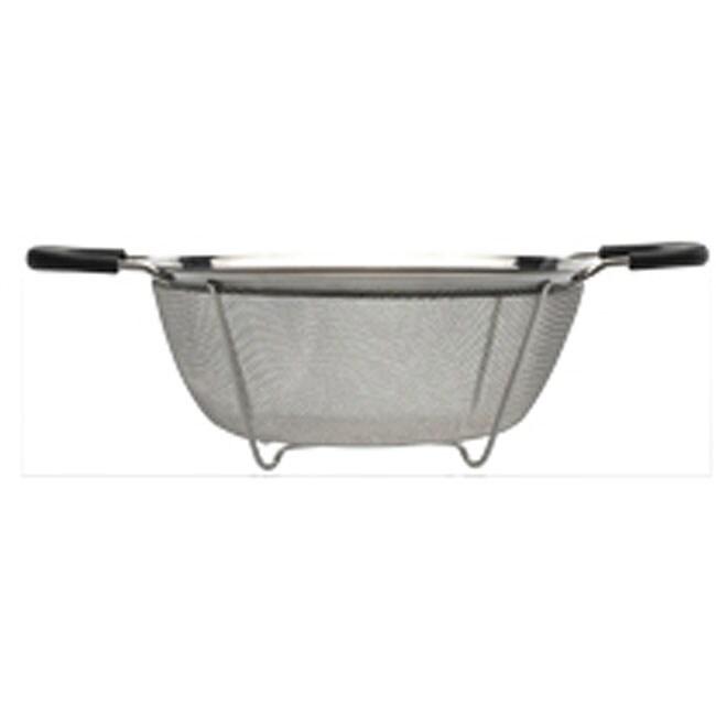 Stainless Steel 11.25x3.25-inch Strainer