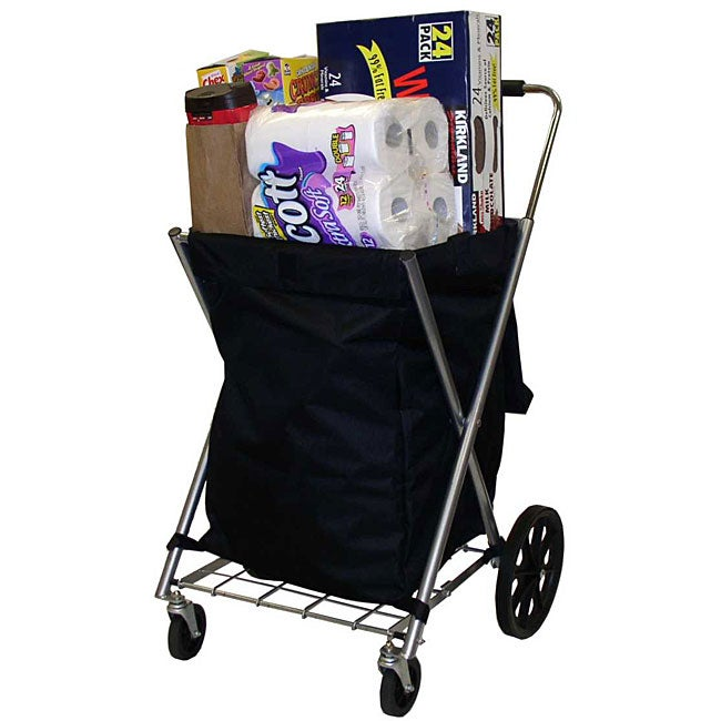Black Canvas Cart