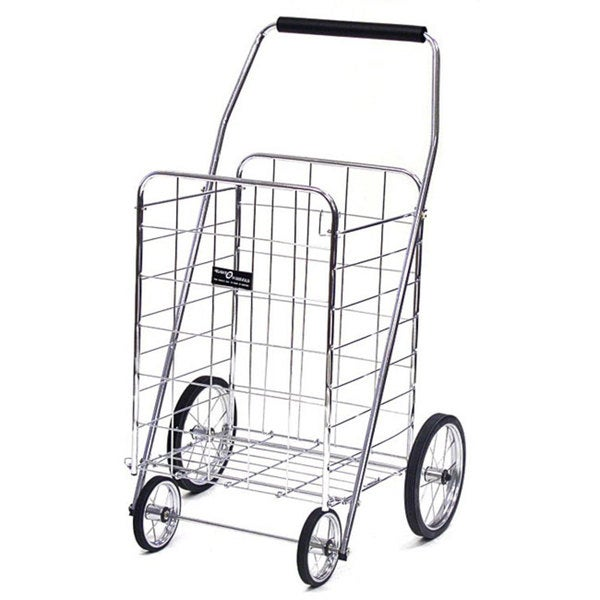 Jumbo Chrome Shopping Cart