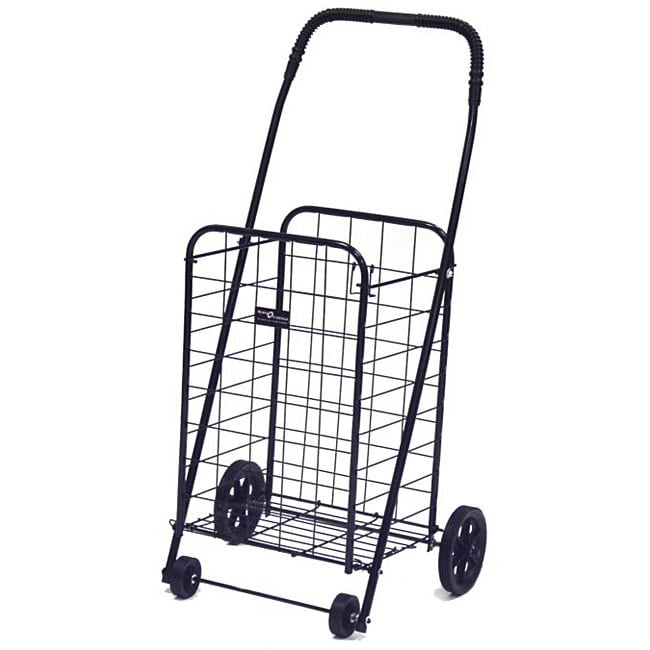 Mini Black Shopping Cart