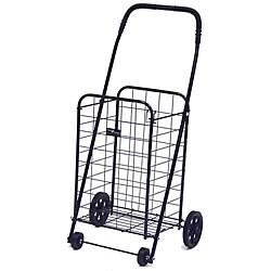 Mini Black Shopping Cart