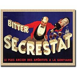 Robert Wolfe 'Bitter Secrestat' Framed Art