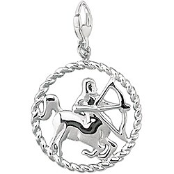 Sterling Silver 'Sagittarius' Charm