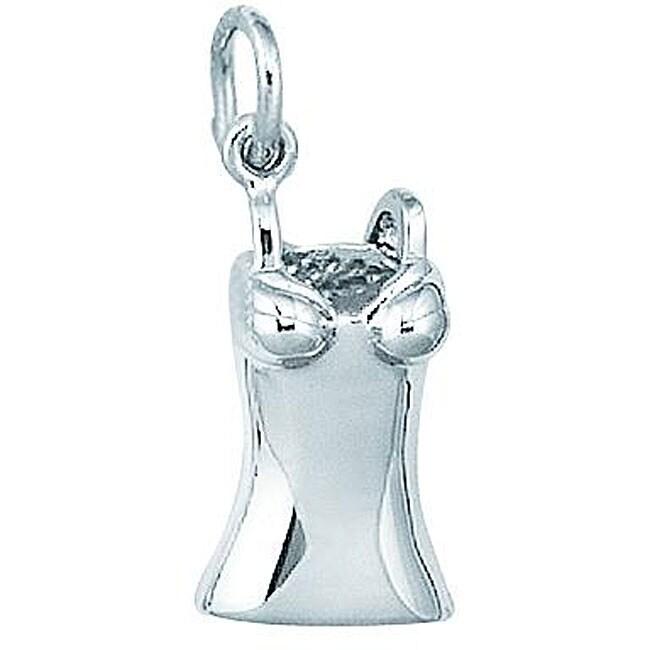 Sterling Silver Woman's Braselette Charm