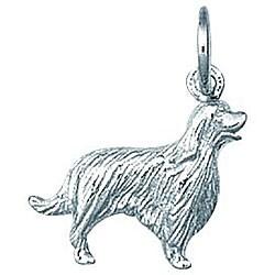 Sterling Silver Irish Setter Dog Charm