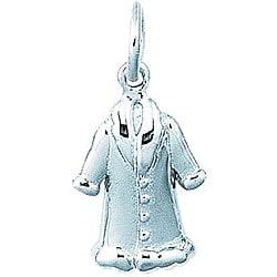 Sterling Silver Mink Coat Charm