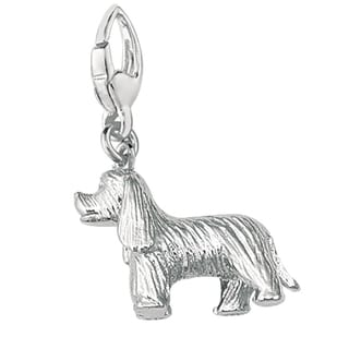 Sterling Silver 3D Cocker Spaniel Charm