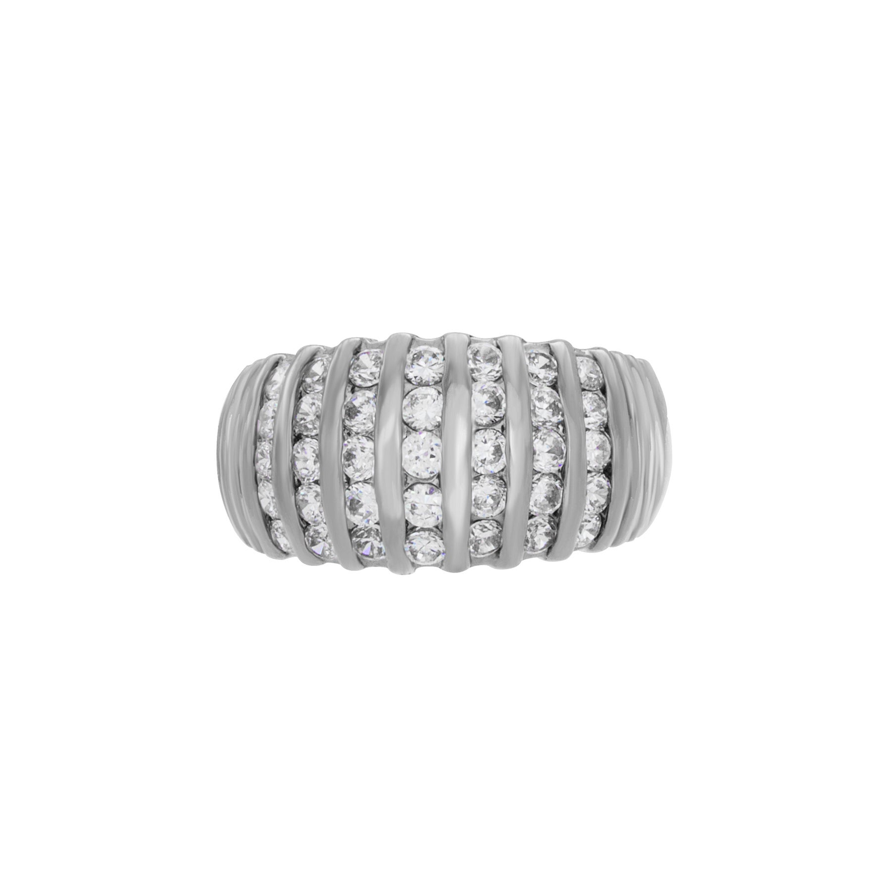Best Designer Jewelry Sterling Silver Twisted Dome Ring