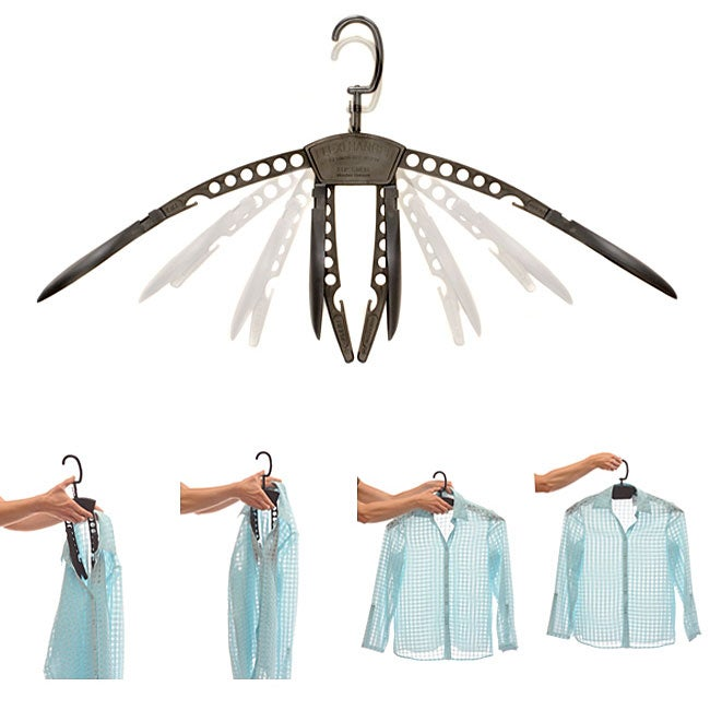 Color 10-piece Flexi Hanger Set