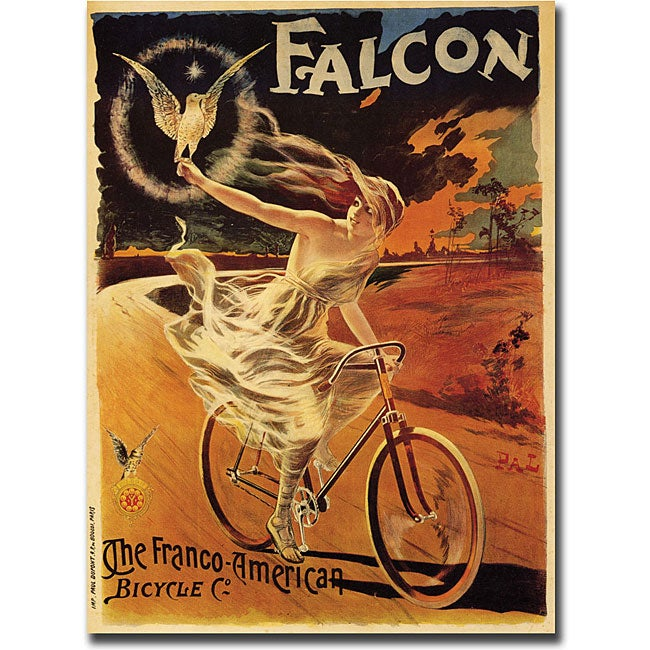 Pal 'Falcon' Framed Canvas Art