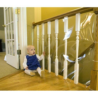 Shop Clear 15 Foot Banister Guard Roll Free Shipping On