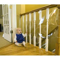 Clear 15-foot Banister Guard Roll