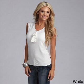 Milana by Yogacara Women's Ruffle Sleeveless Top (4 options available)