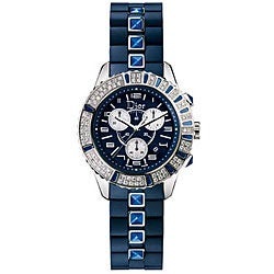Christian Dior Christal Women's CD11431IR001 Chrono Sapphire Watch