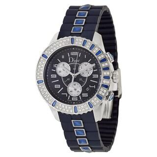 Christian Dior Christal Women's Chrono Sapphire Watch