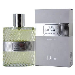 Christian Dior Eau Sauvage Men's 3.4-ounce Eau de Toilette Spray